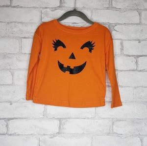 Other - Orange Halloween Long Sleeve Shirt size 24 months